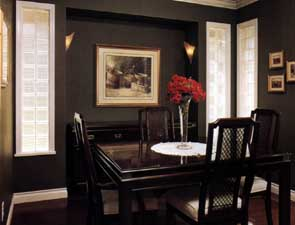 Dining Room Acrylic Block Windows
